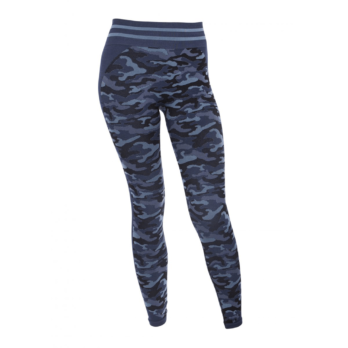 Run&Relax-Camo Tights-Black & Blue