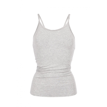 Run & Relax-Mantra top-Light Grey Melange